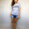 Triko Blonde šedé 02