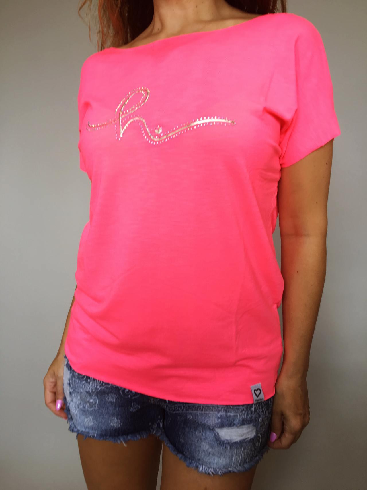 Triko Bonnie růžové 01
