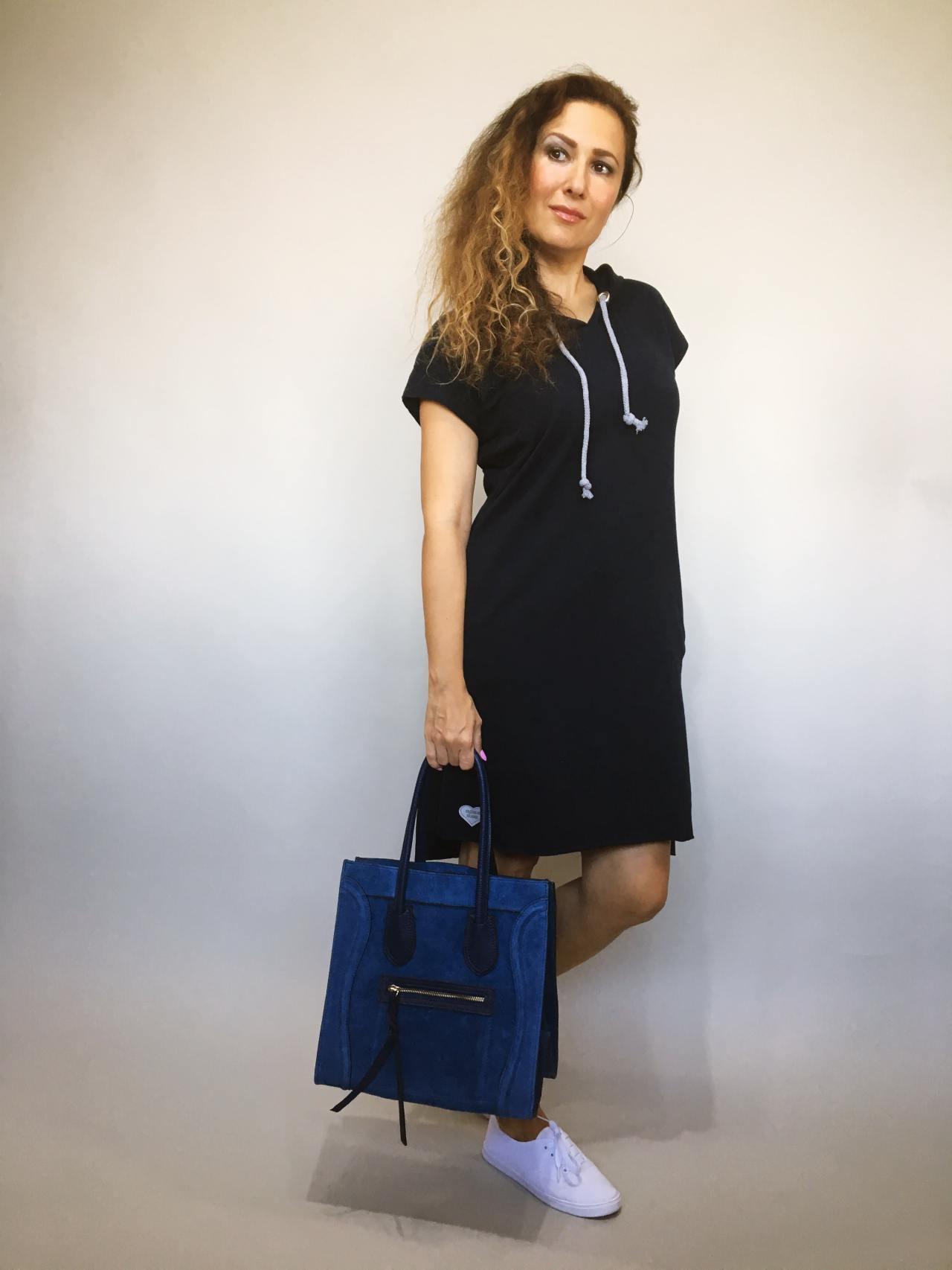 Tunika Molly tmavě modrá 01