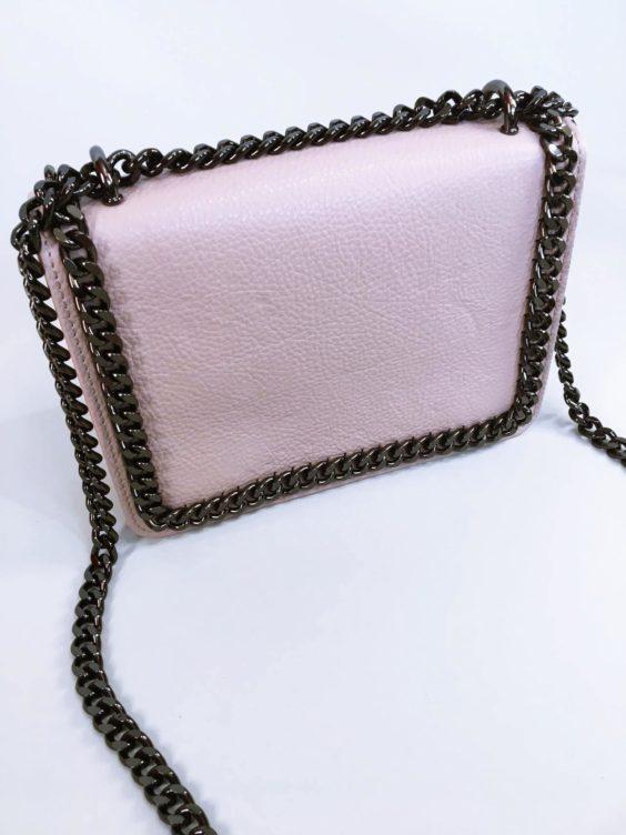 Kožená kabelka Donna pudrová 02