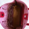 Kožená kabelka Gigi bordó 05