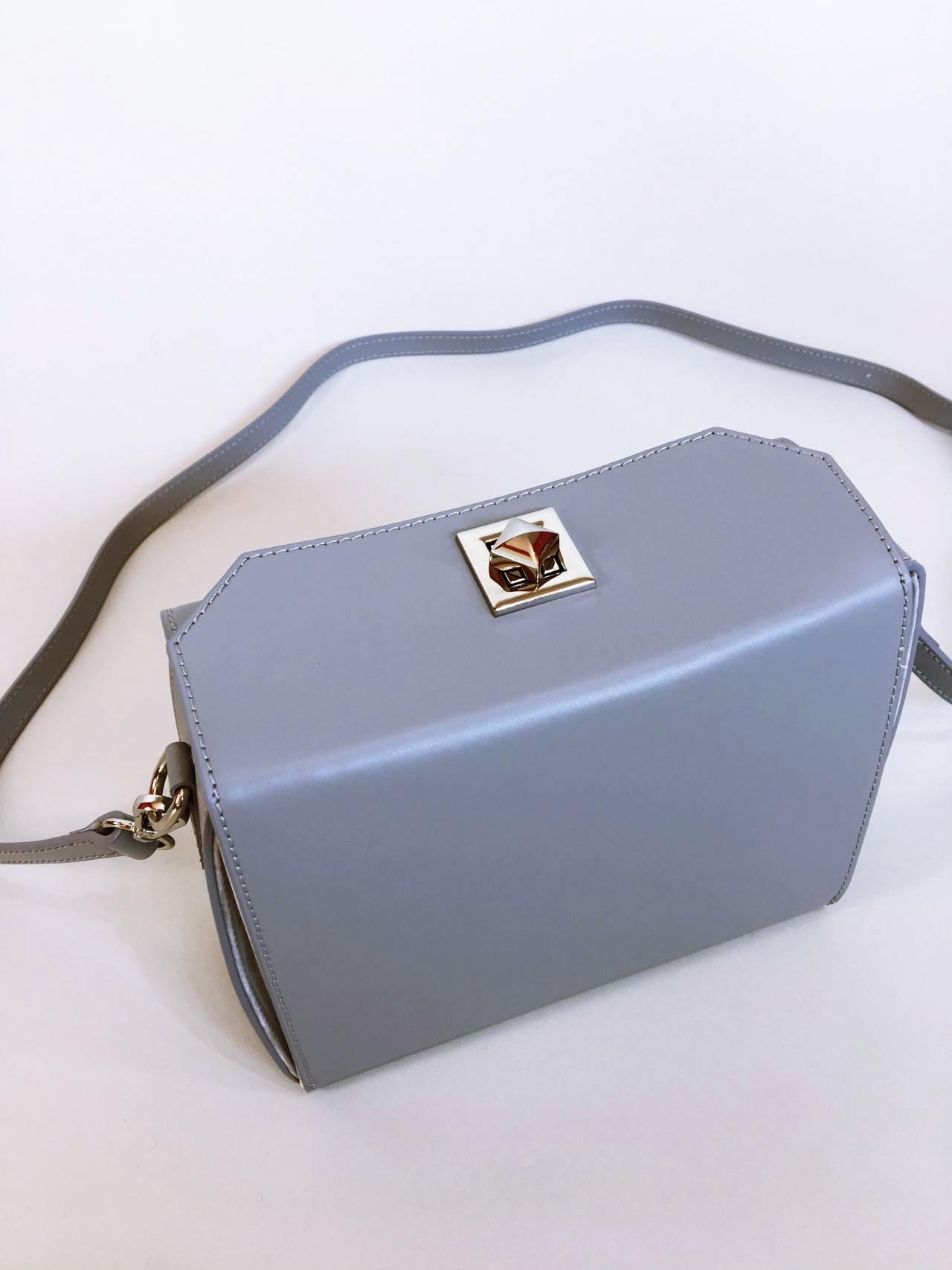 Kožená kabelka Grey 04