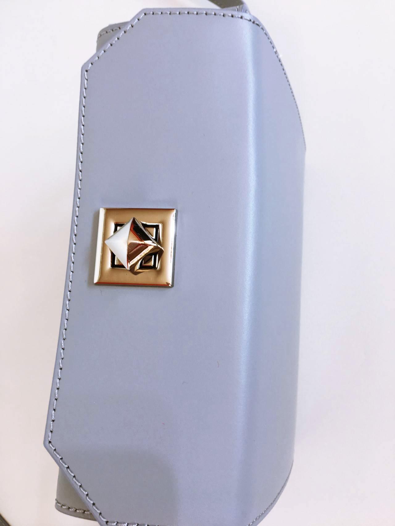 Kožená kabelka Grey 05