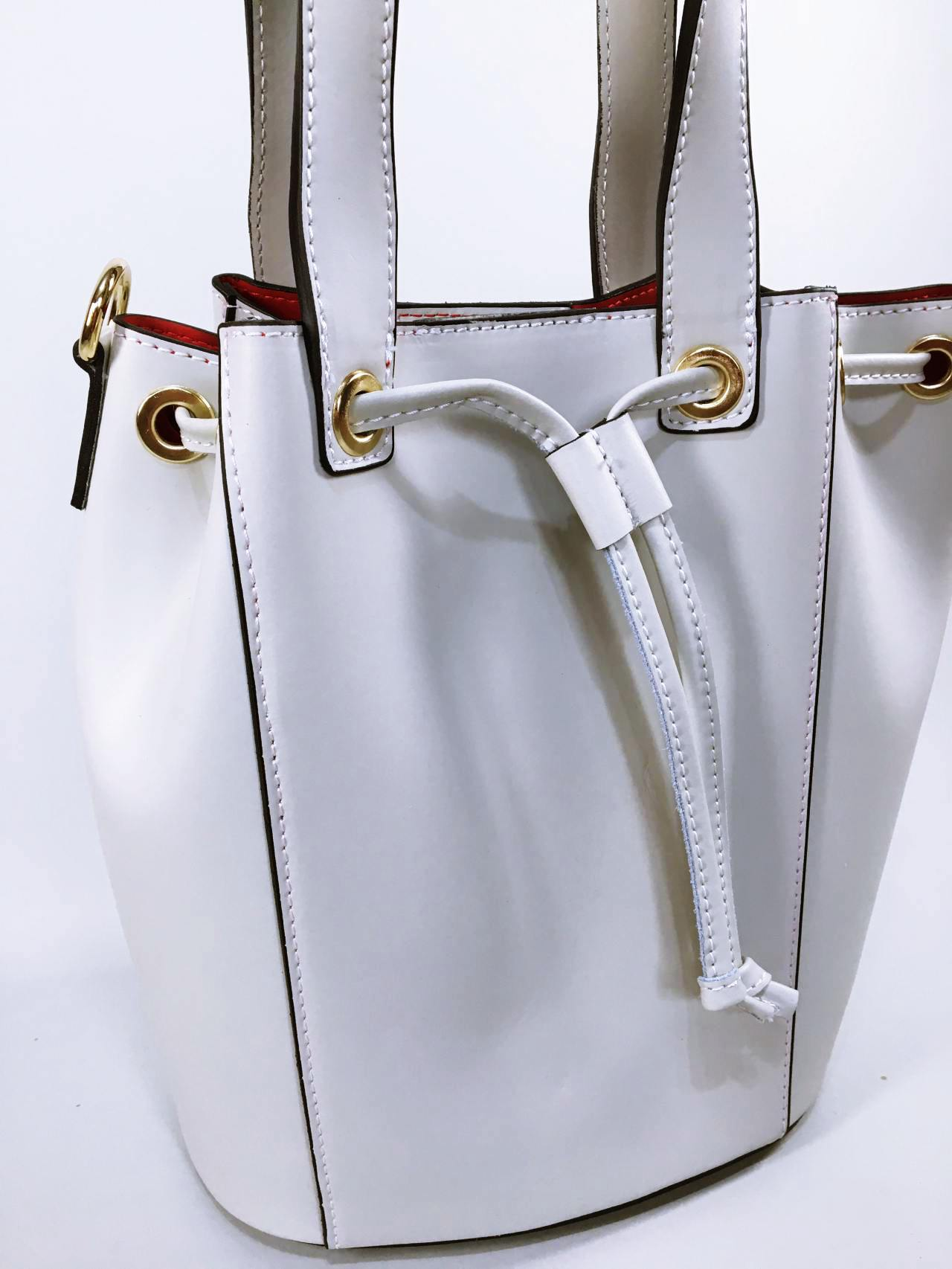 Kožená kabelka Lia béžová 01