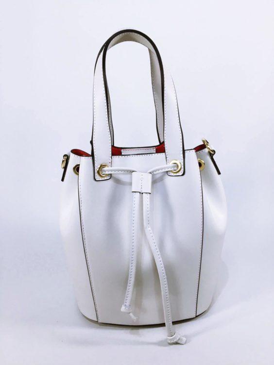 Kožená kabelka Lia béžová 06