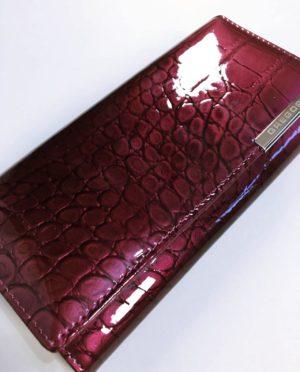 Kožená peněženka Gregorio B tmavě růžová 02