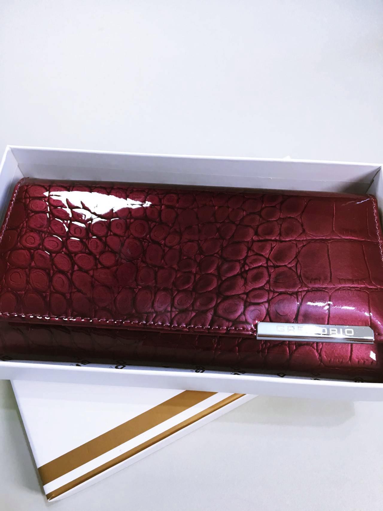 Kožená peněženka Gregorio B tmavě růžová 06