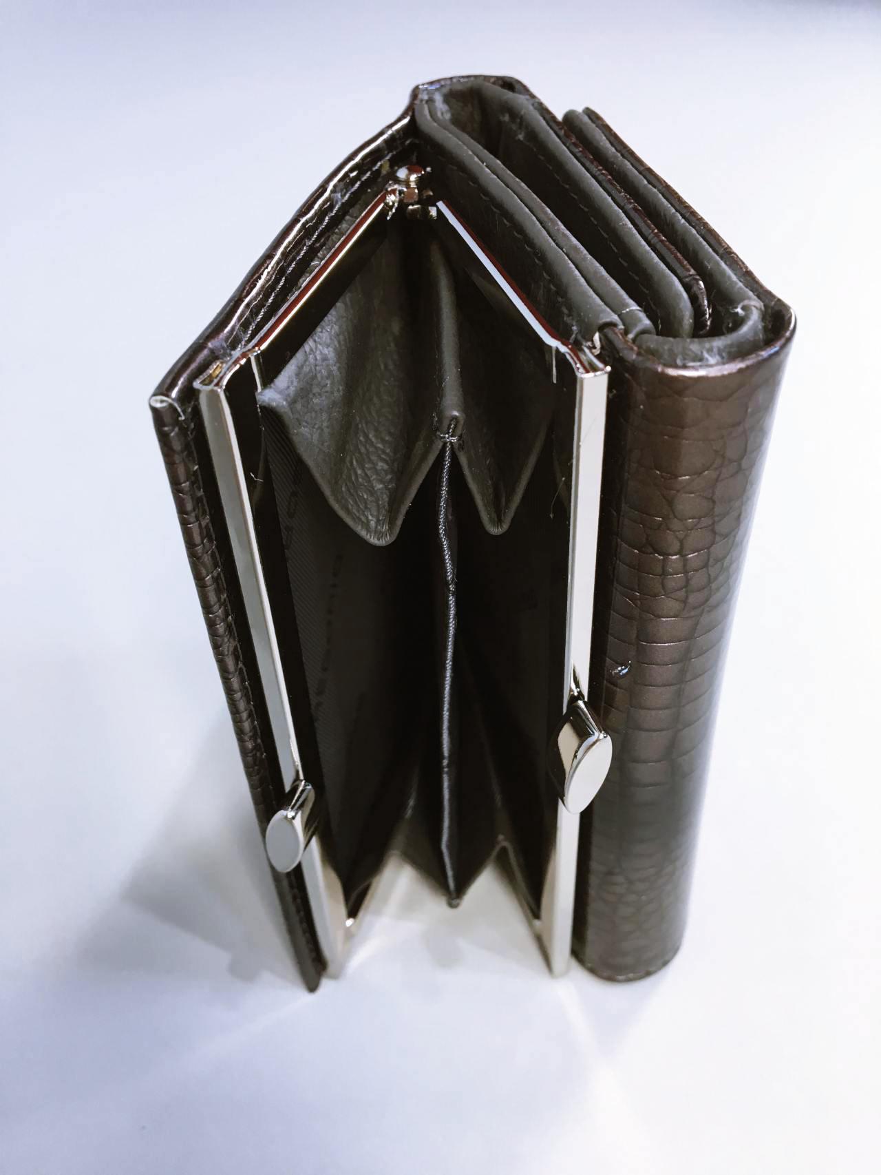 Kožená peněženka Gregorio S šedá 05