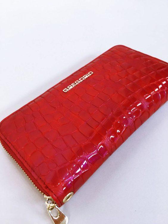 Kožená peněženka Gregorio červená 02