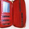 Kožená peněženka Gregorio červená 03