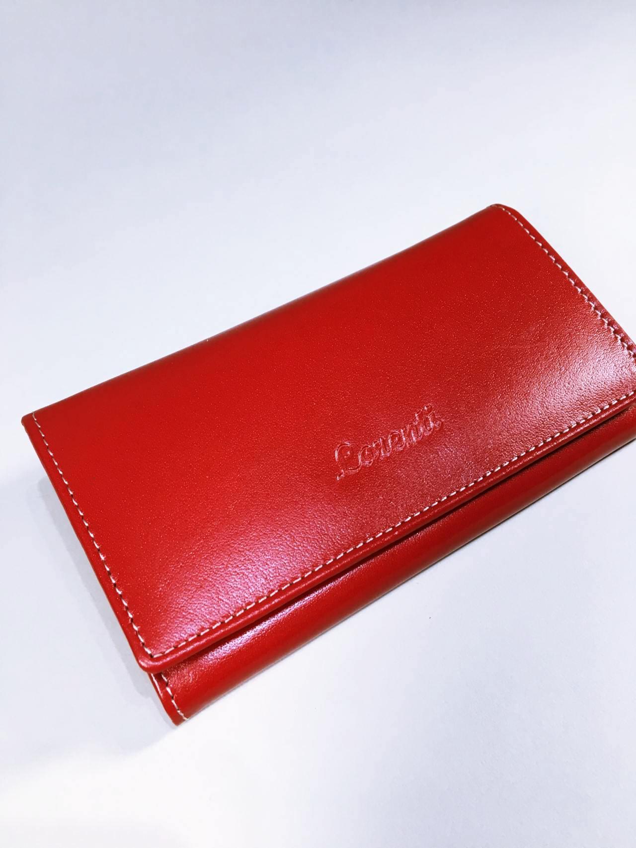 Kožená peněženka Lorenti N červená 02