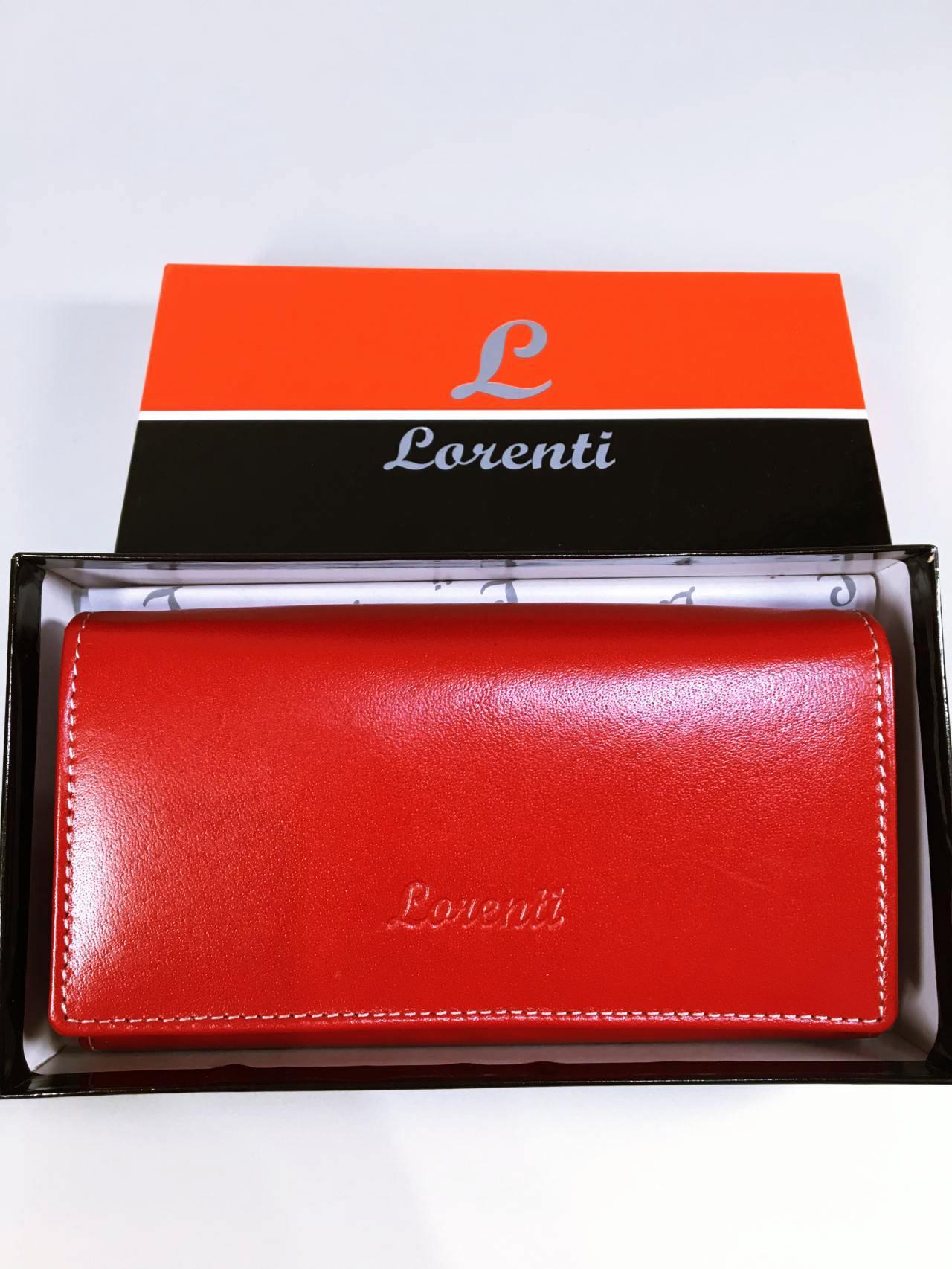 Kožená peněženka Lorenti N červená 05