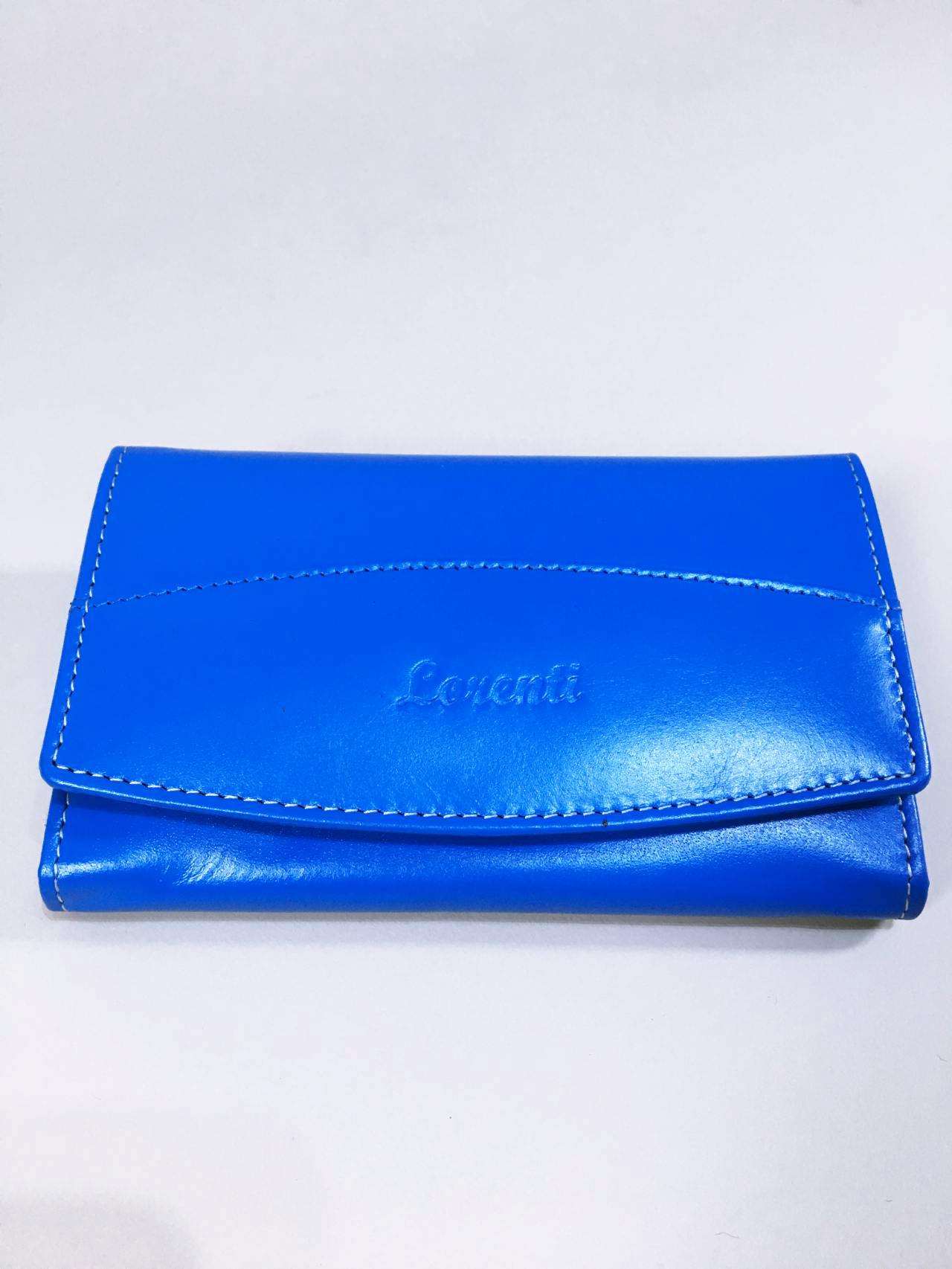Kožená peněženka Lorenti N modrá 01