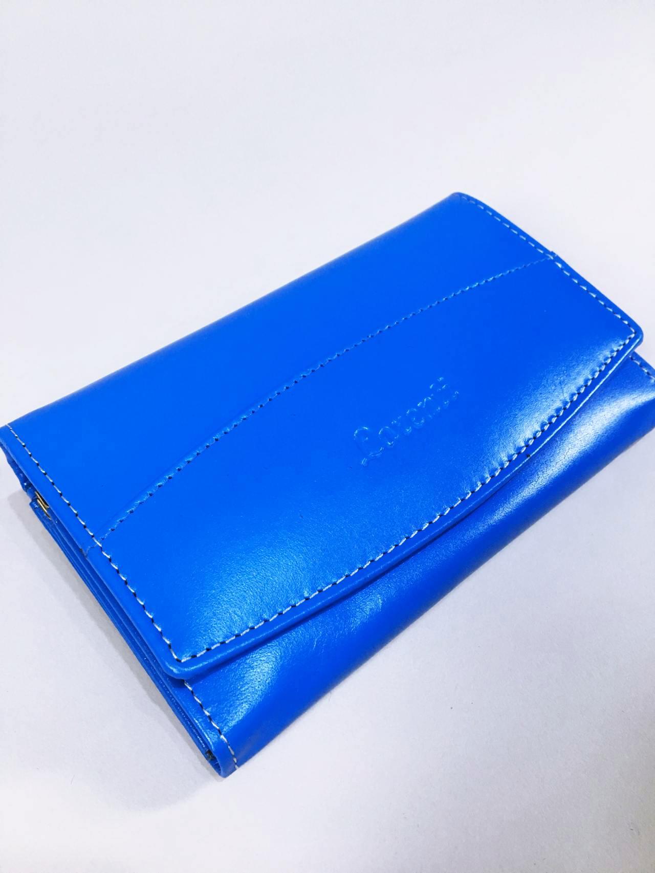 Kožená peněženka Lorenti N modrá 02