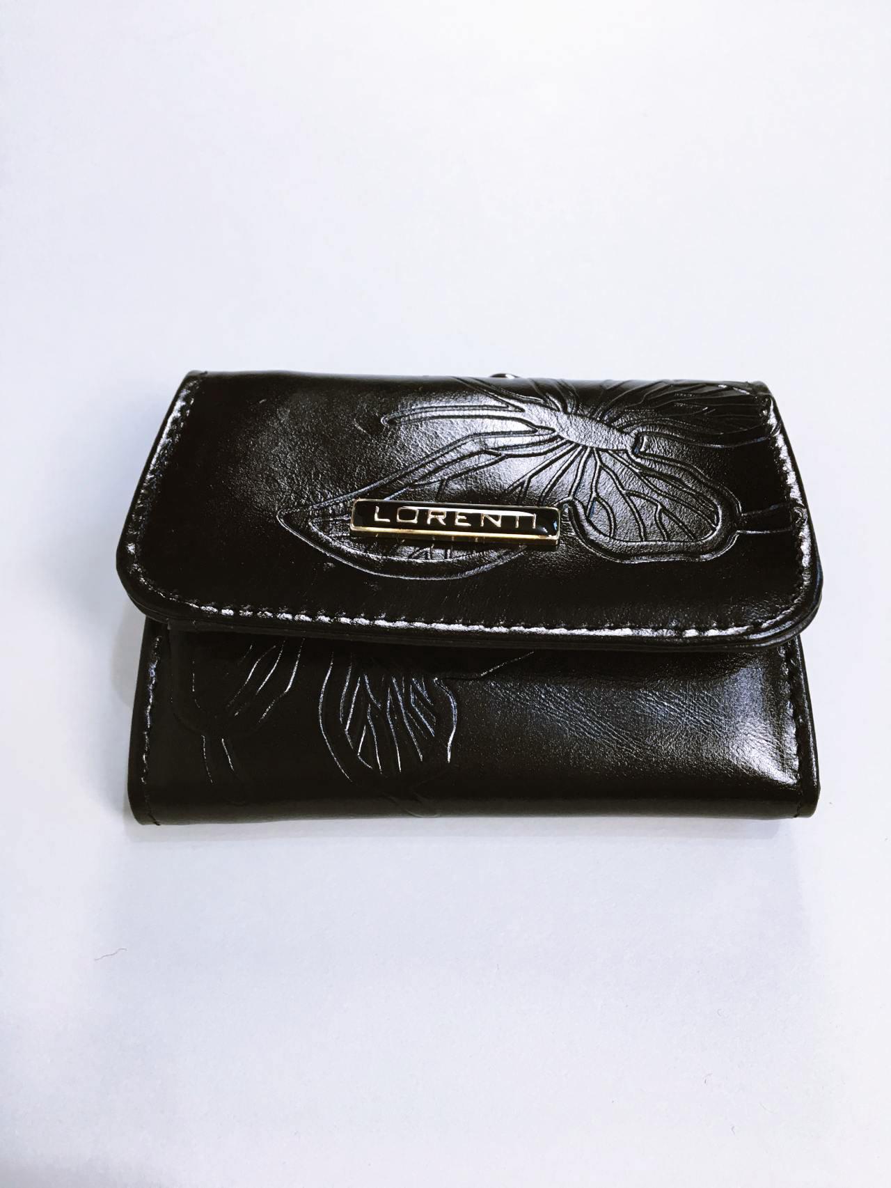 Kožená peněženka Lorenti černá 01