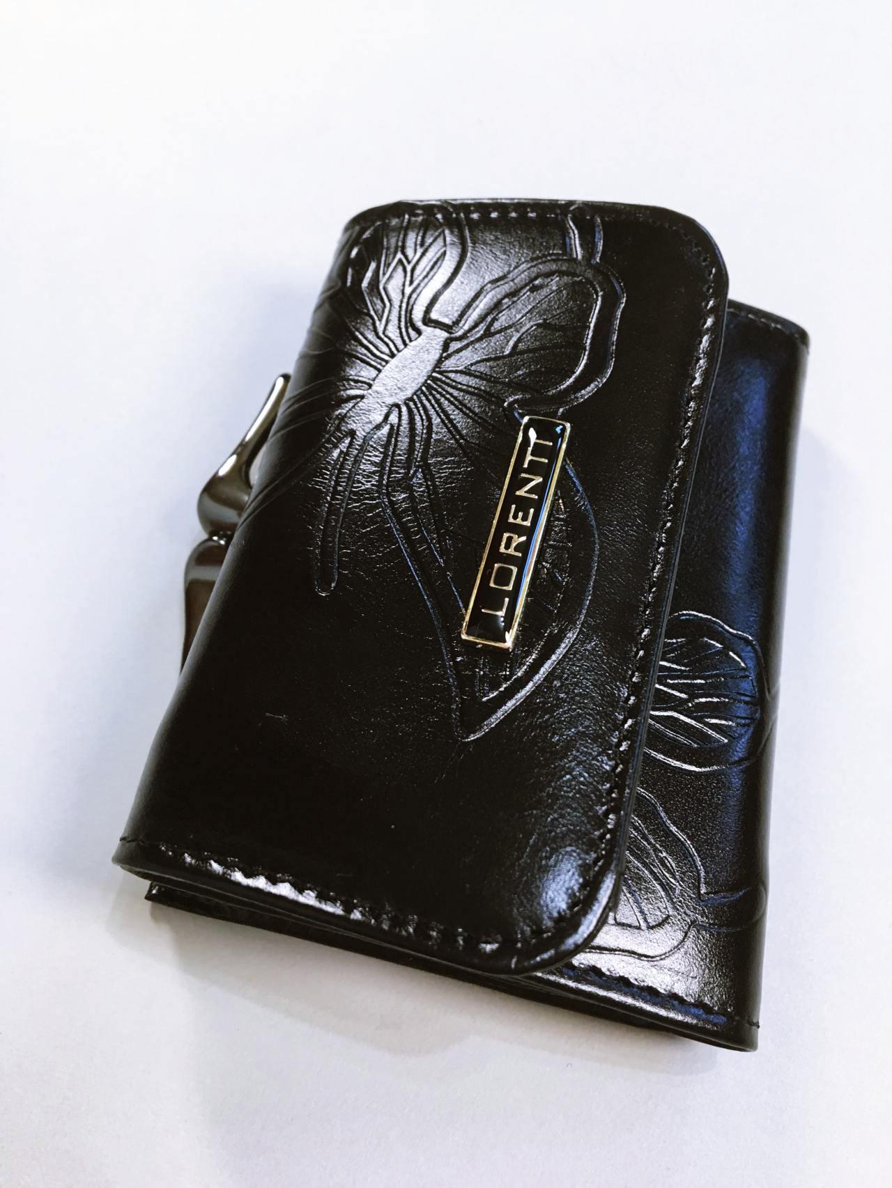 Kožená peněženka Lorenti černá 02
