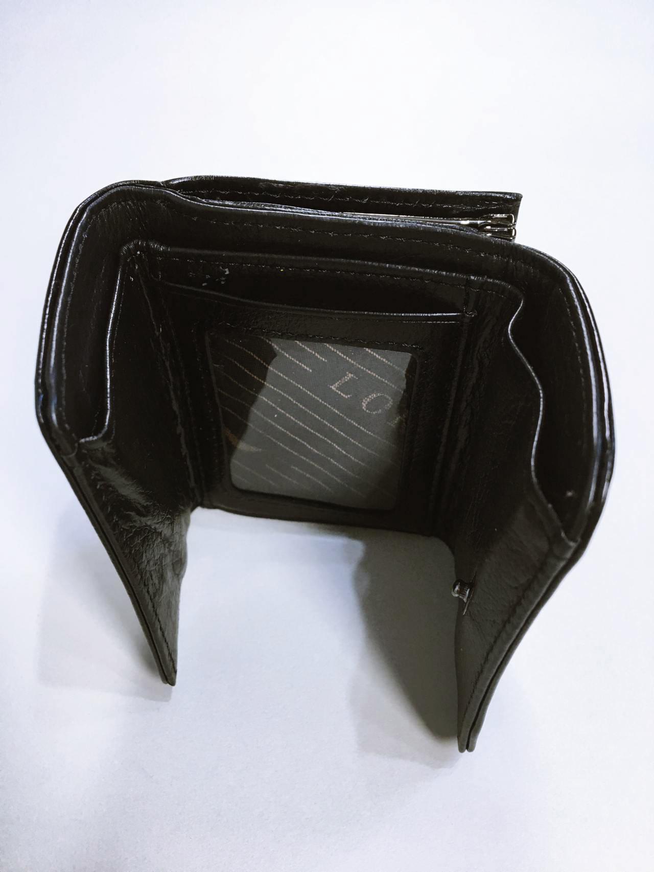 Kožená peněženka Lorenti černá 03