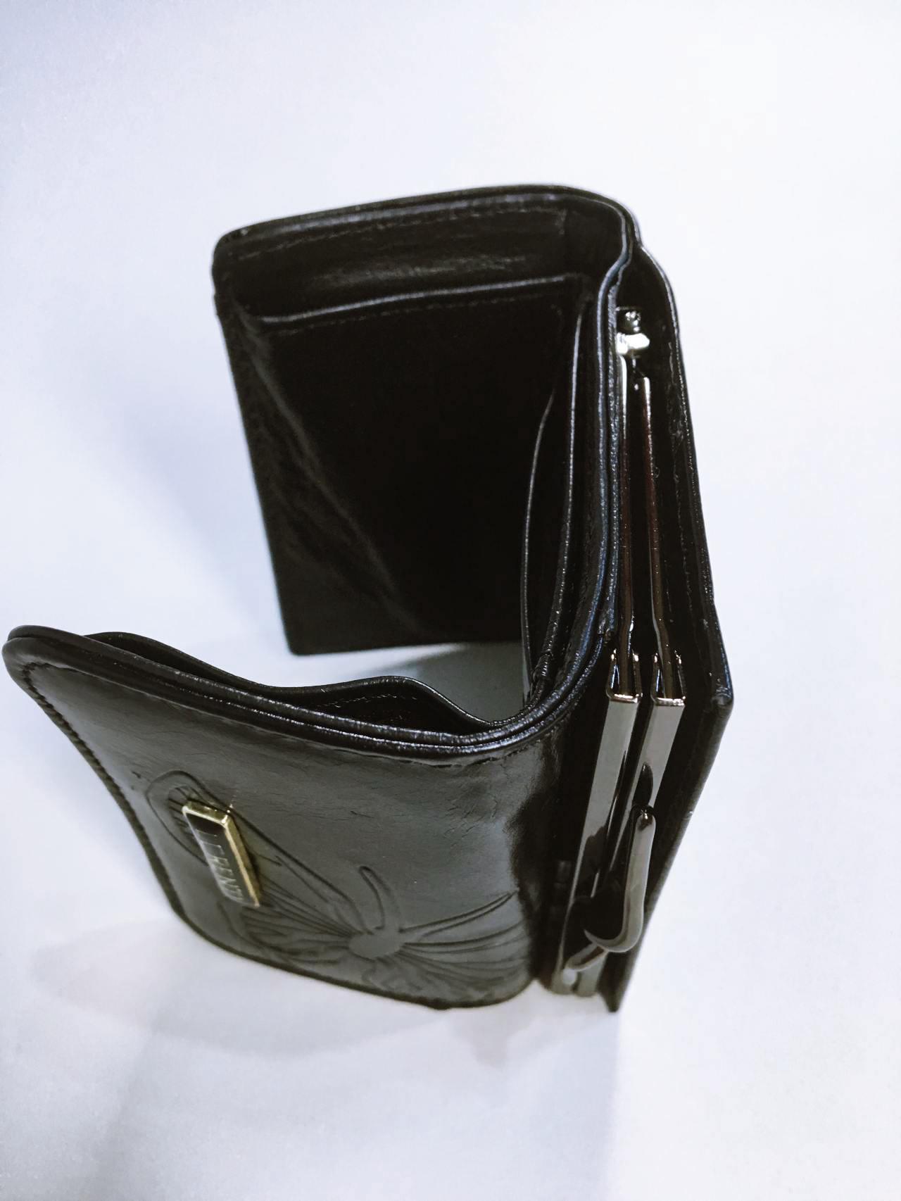 Kožená peněženka Lorenti černá 04