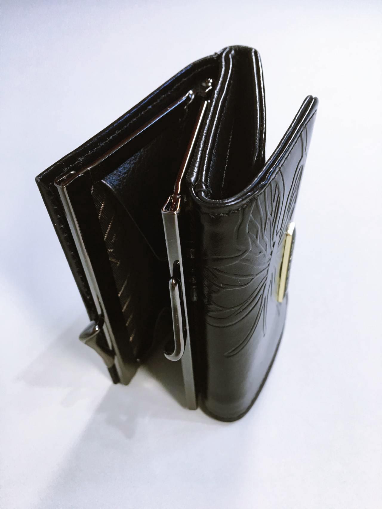 Kožená peněženka Lorenti černá 05