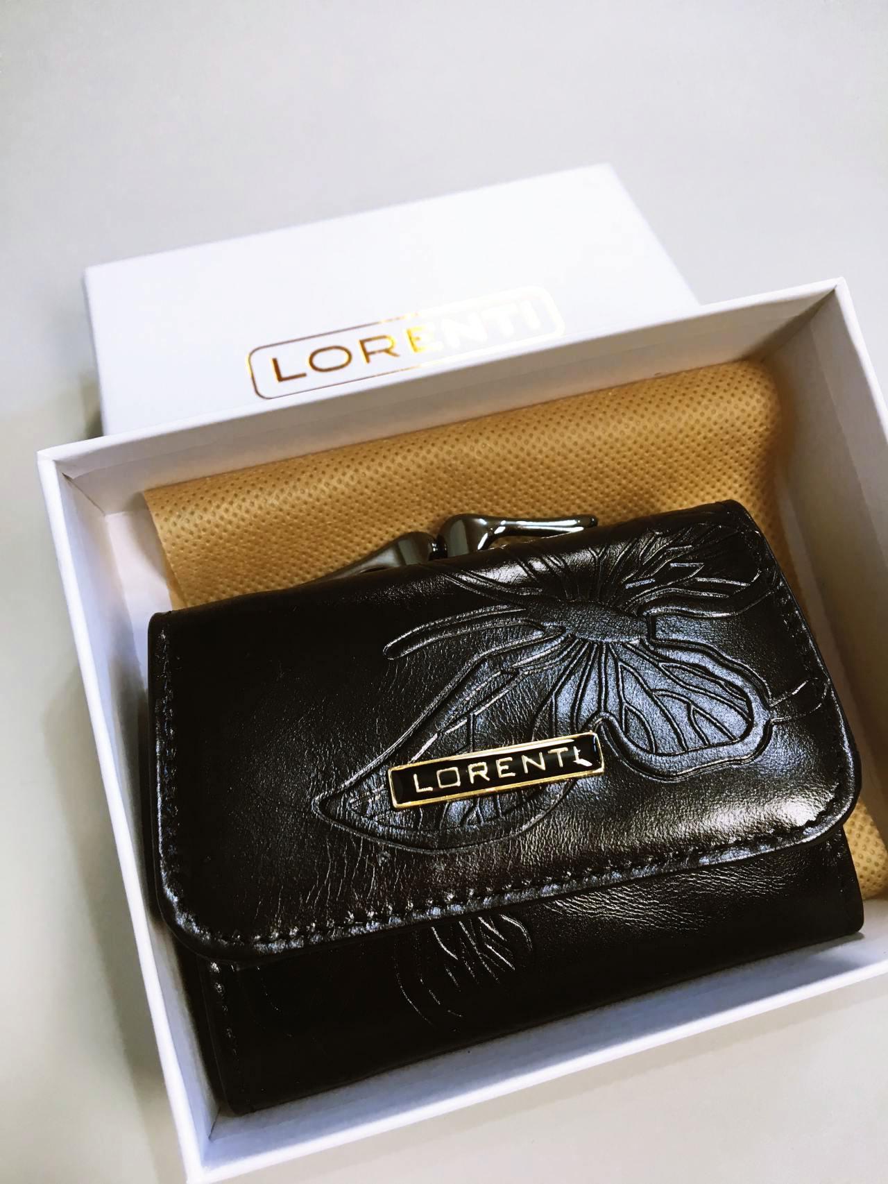 Kožená peněženka Lorenti černá 06
