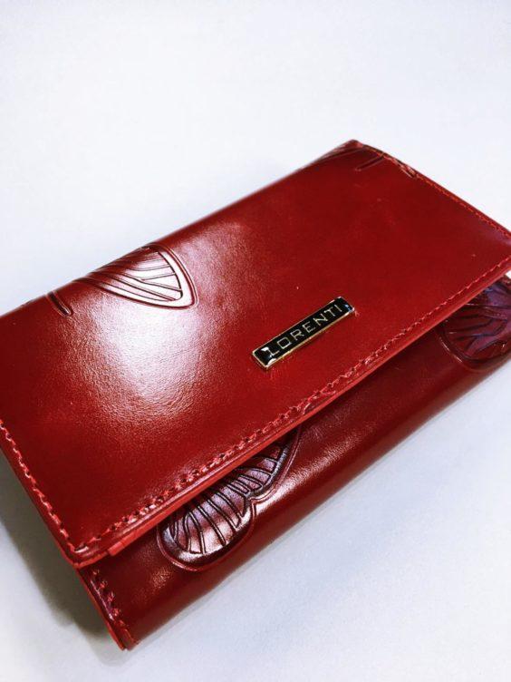 Kožená peněženka Lorenti tmavě červená 02