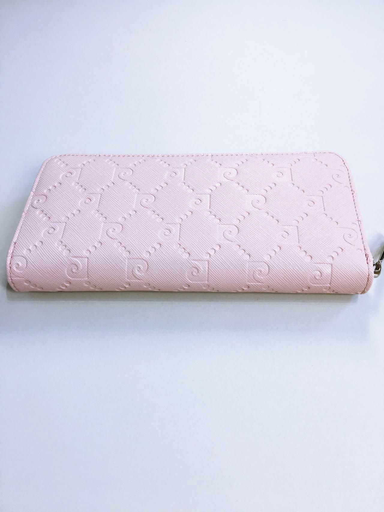 Kožená peněženka Pierre Cardin pudrová 01