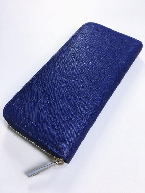 Kožená peněženka Pierre Cardin tmavě modrá 02