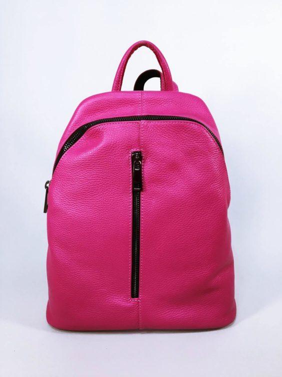 Kožený batoh Pink 01