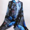 Šála Dorry modrá 01