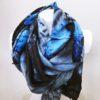 Šála Dorry modrá 03
