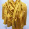 Šála Julie žlutá 02