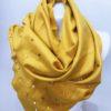 Šála Julie žlutá 03
