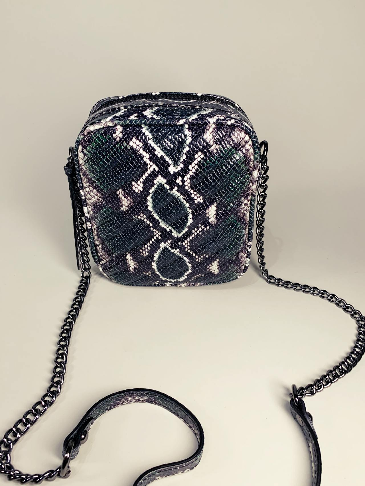 Kožená kabelka Snake -01