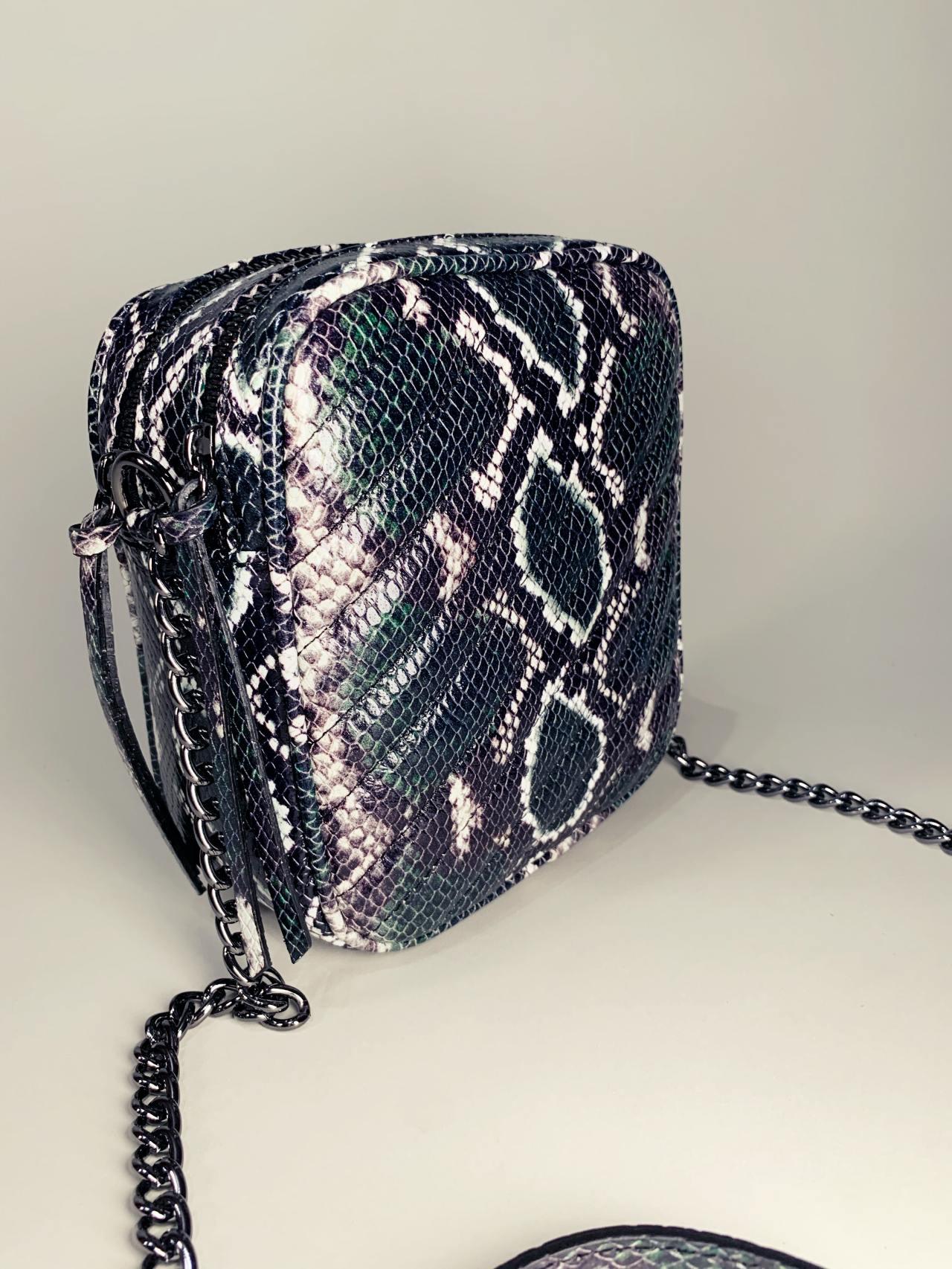 Kožená kabelka Snake -02