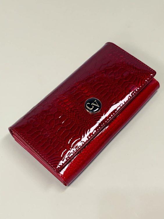 Kožená peněženka Cavaldi L červená -01