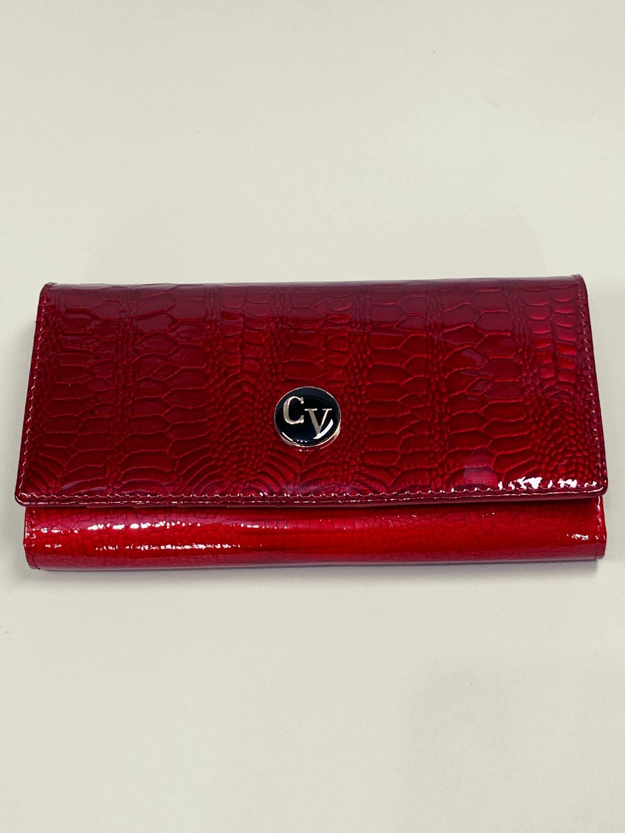 Kožená peněženka Cavaldi L červená -02