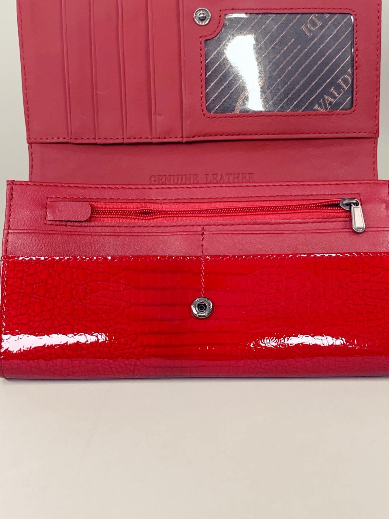 Kožená peněženka Cavaldi L červená -03