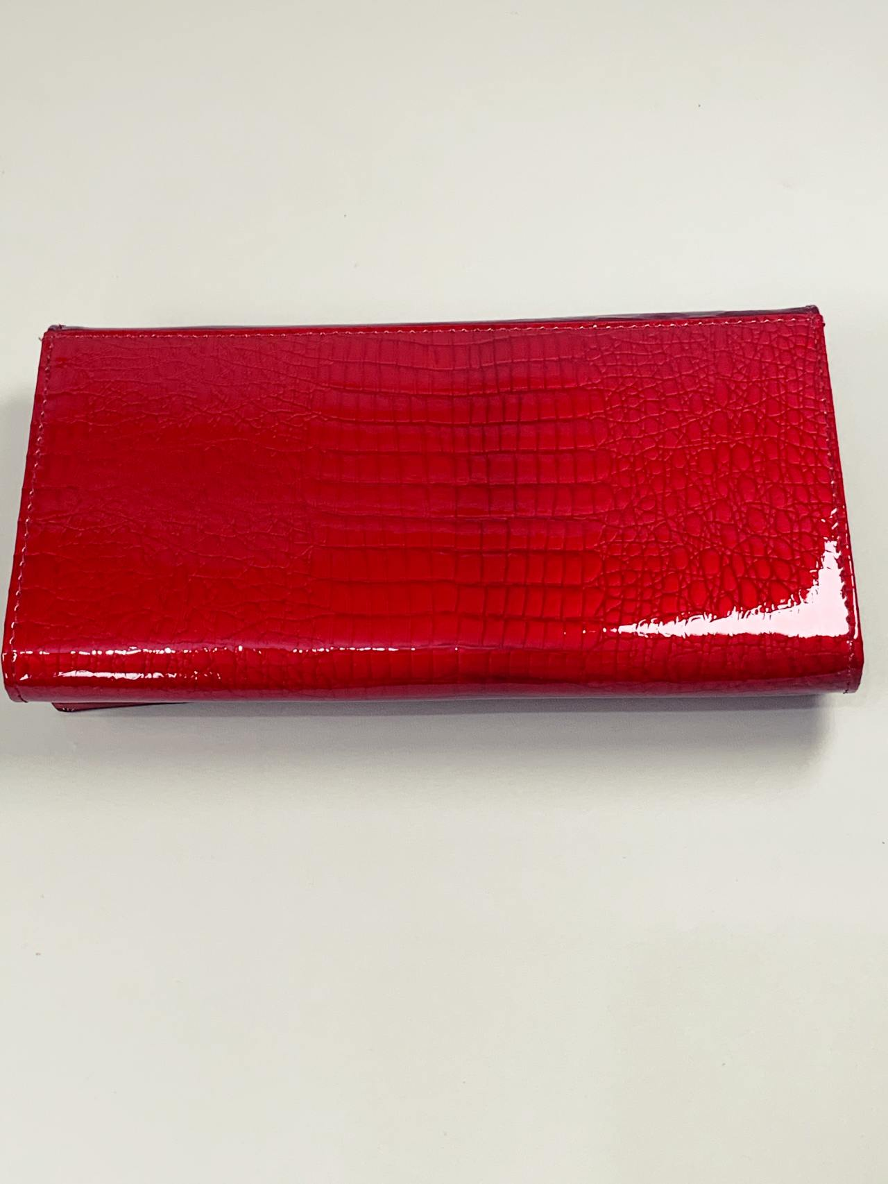 Kožená peněženka Cavaldi L červená -05