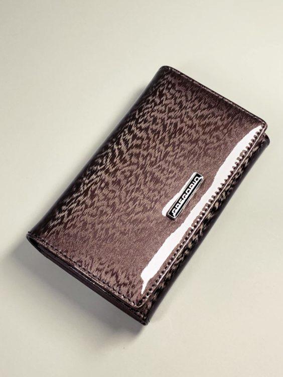 Kožená peněženka Gregorio M šedá -01