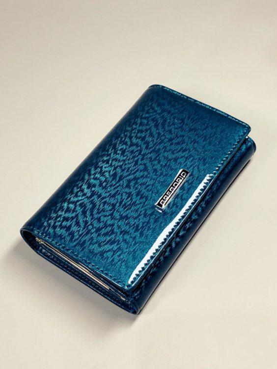 Kožená peněženka Gregorio M tyrkysová -01