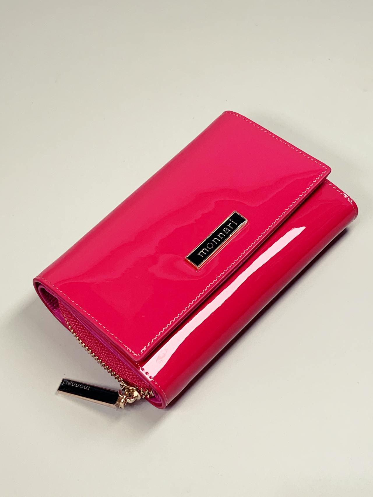 Kožená peněženka Monnari M2 růžová -01