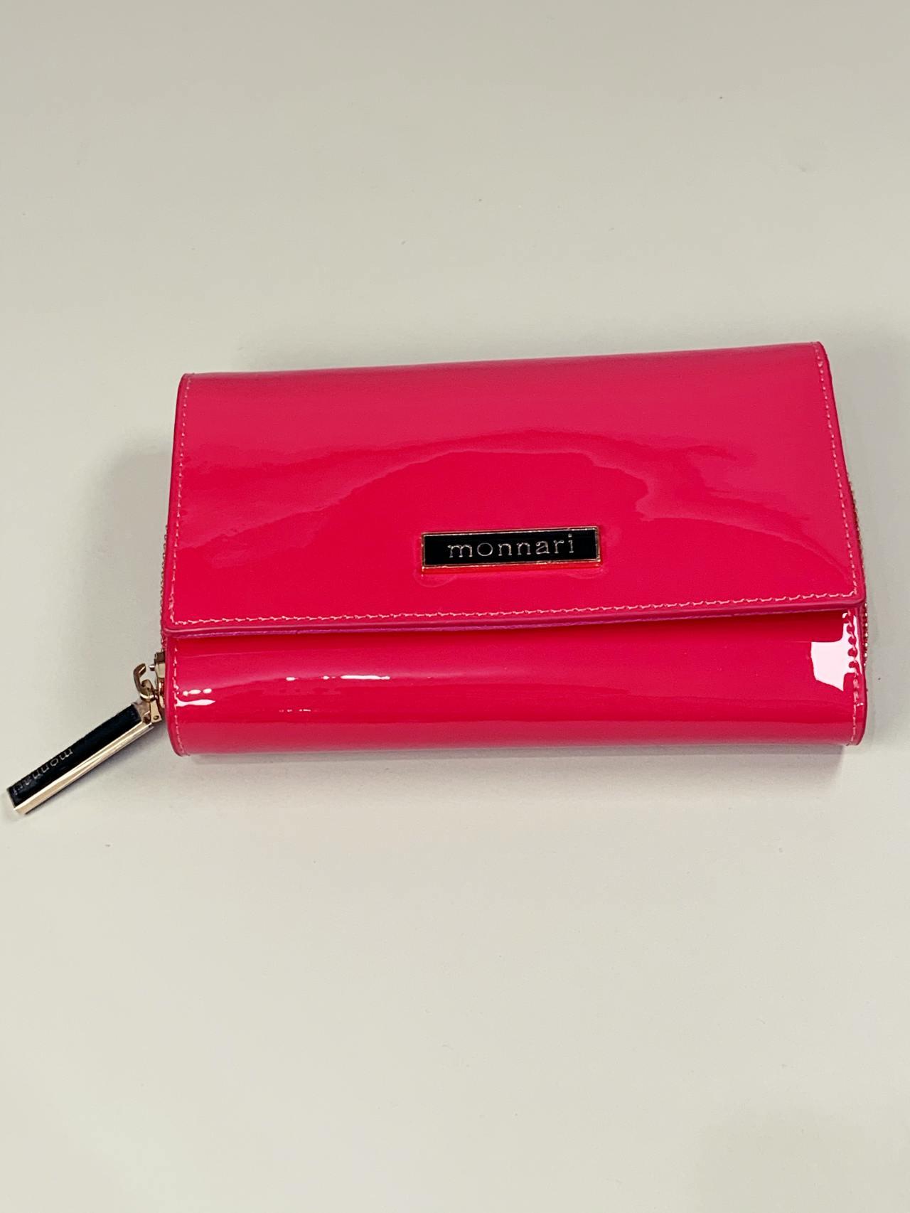 Kožená peněženka Monnari M2 růžová -02