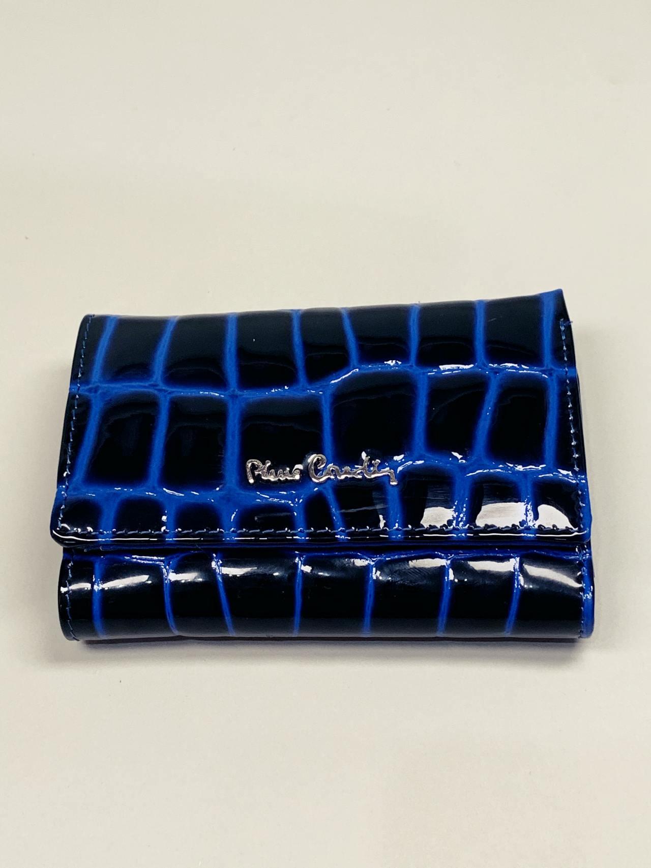 Kožená peněženka Pierre Cardin S modrá -02