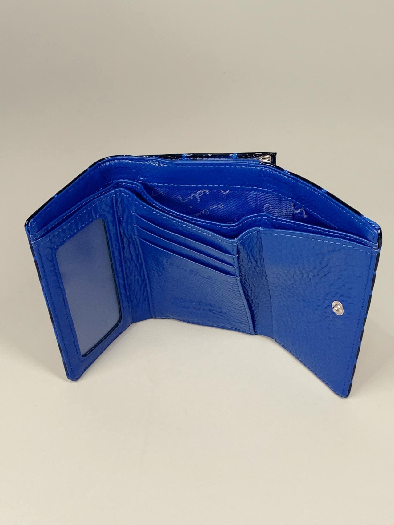 Kožená peněženka Pierre Cardin S modrá -03