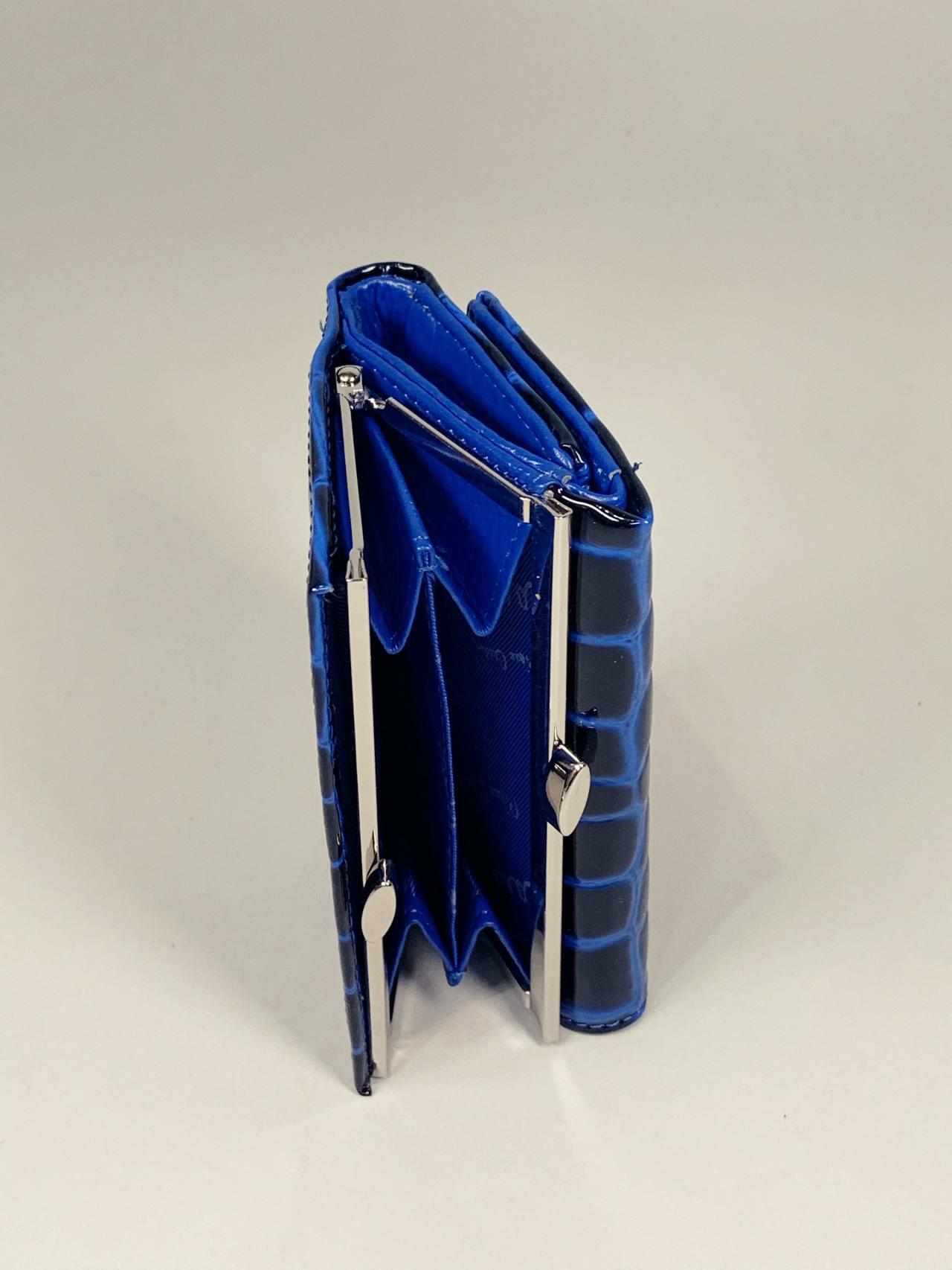 Kožená peněženka Pierre Cardin S modrá -04