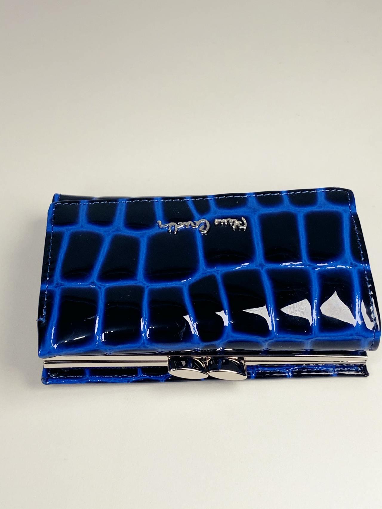 Kožená peněženka Pierre Cardin S modrá -05