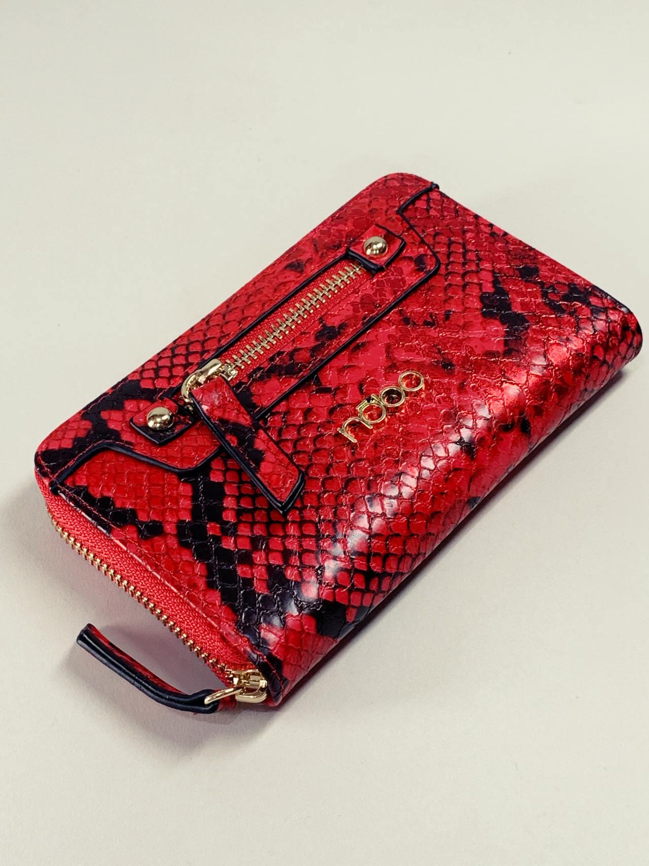 Peněženka Nóbo M červená -01