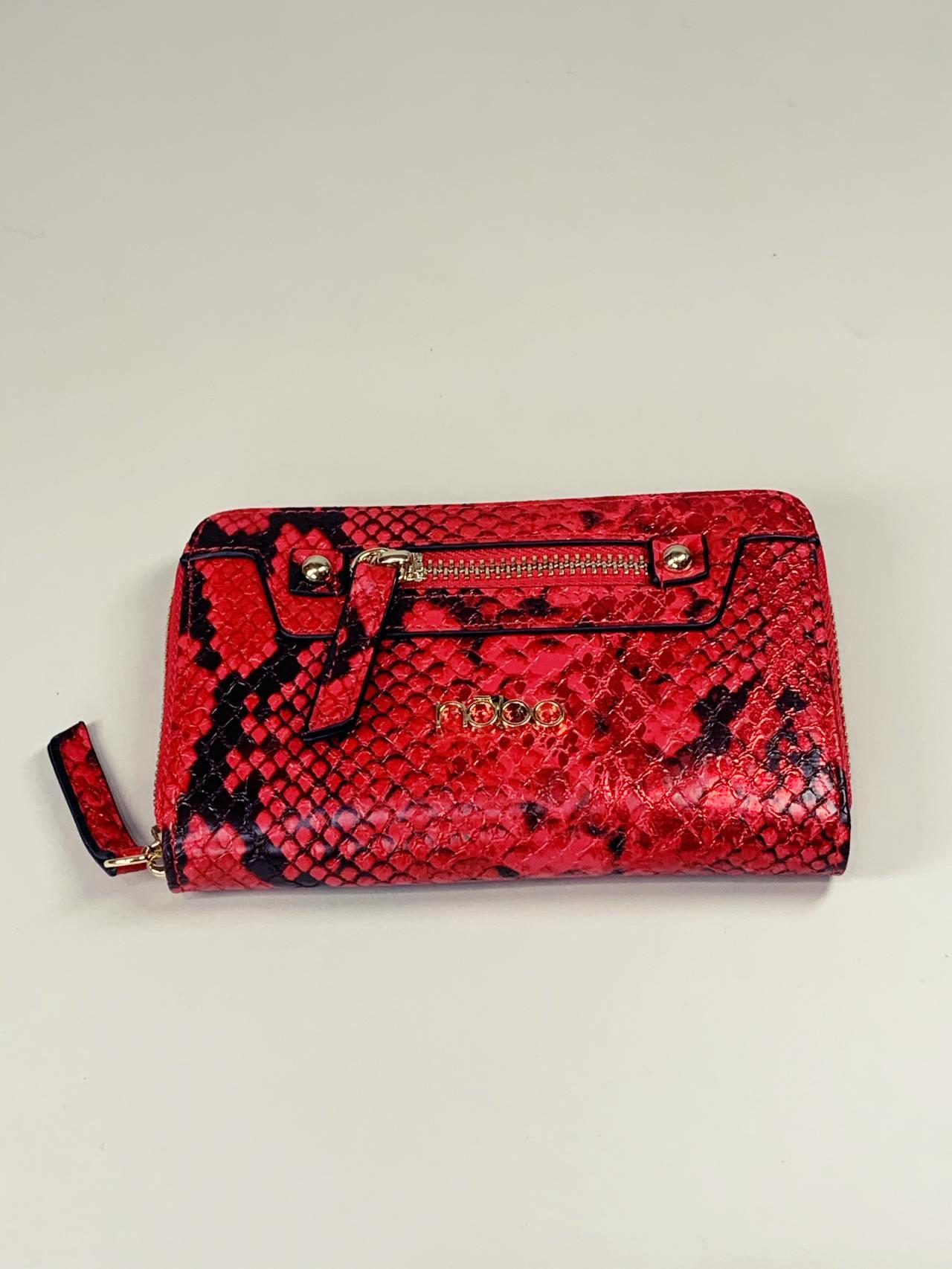 Peněženka Nóbo M červená -02